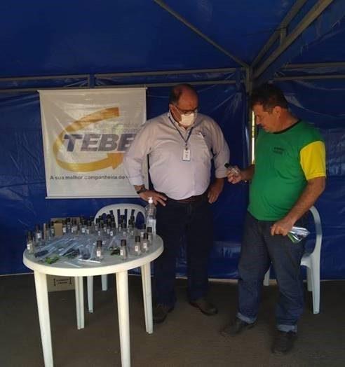 TEBE realizou ações em apoio aos caminhoneiros durante a pandemia do COVID-19