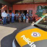 Equipes da TEBE, Polícia Militar Rodoviária e Casa Acolhedora Vovô Antônio.