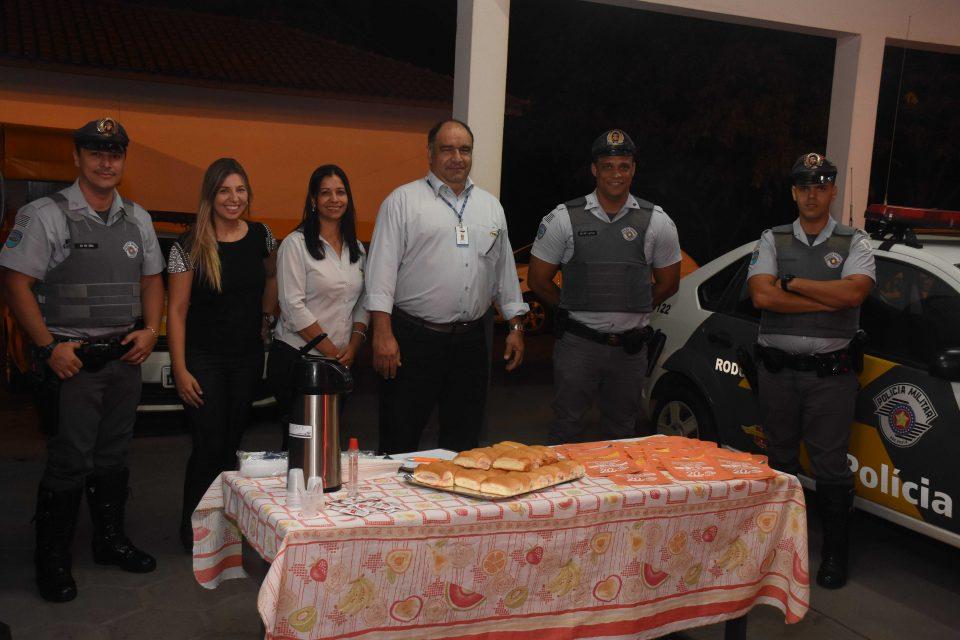 TEBE realiza Campanha Acorda Motorista na Rodovia Brigadeiro Faria Lima