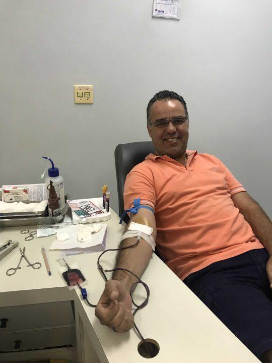 A Campanha de Doação de Sangue da TEBE continua durante o mês de janeiro