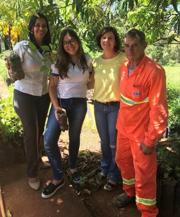 TEBE inicia a Campanha Adote uma Árvore com distribuição de mudas nativas e frutíferas