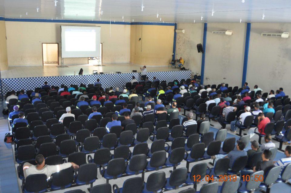 TEBE realiza palestra de orientação sobre segurança viária para motoristas e funcionários da Usina São José