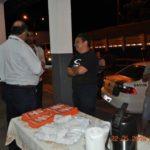 Orientando os motoristas durante a ação, o gerente de operações da TEBE, Fernando dos Santos.
