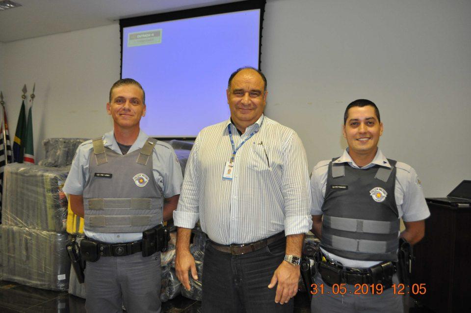 TEBE em parceria com Policia Militar Rodoviaria, realizam palestra de orientação sobre direção defensiva para colaboradores da empresa