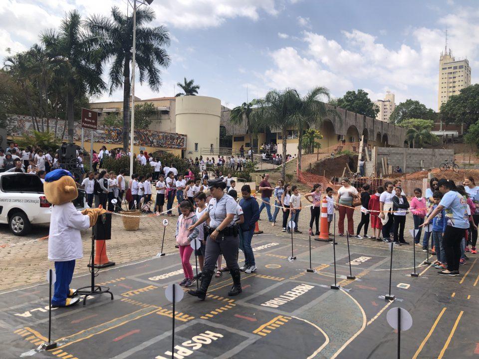 """TEBE realizou o Projeto """"Educação no Trânsito"""" em Monte Alto"""