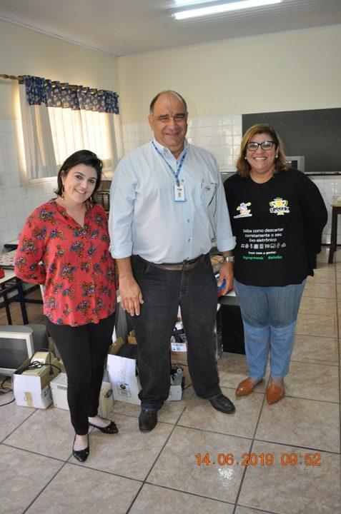EMEB Stélio Machado Loureiro de Bebedouro participa do Movimento Greenk e conta com apoio da TEBE