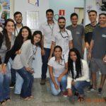 Equipe CIFAL Distribuidora realizando doação de sangue em Bebedouro.