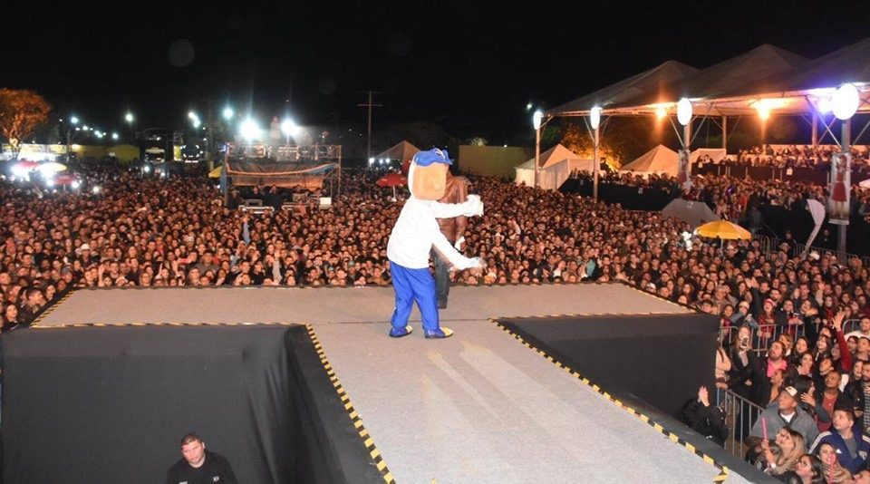 TEBE, DETRAN e ARTESP realizaram ações de conscientização para um trânsito mais seguro na Festa do Cavalo de Colina
