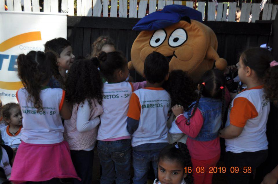 Educação no Trânsito no Rancho do Peãozinho já beneficiou 3000 crianças