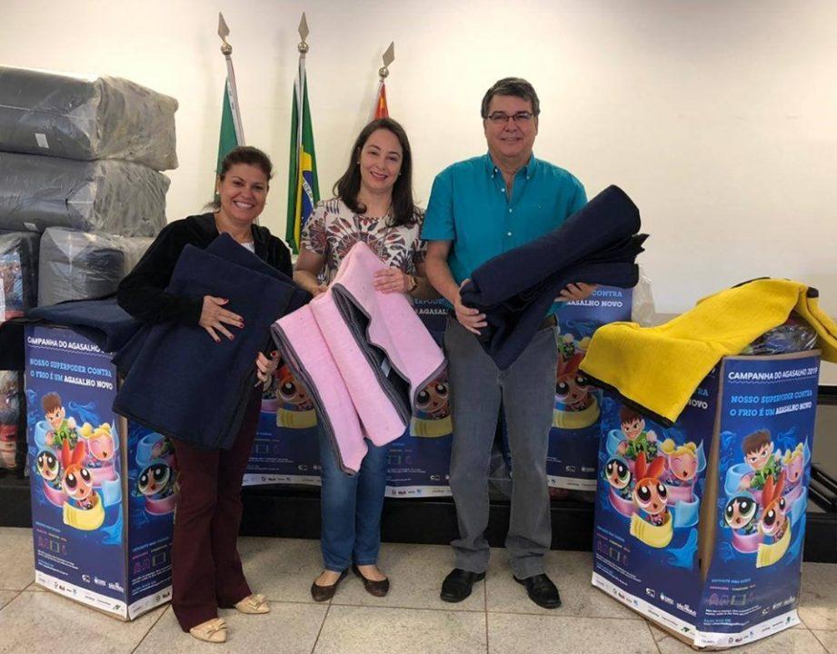 TEBE realiza entrega roupas e cobertores para Bebedouro na Campanha do Agasalho 2019