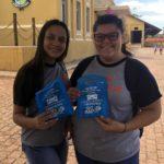 As alunas, Maria Fernanda e Letícia, adoraram a acão.